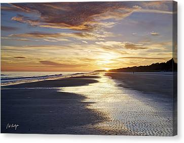 Golden Sands Canvas Print by Phill Doherty