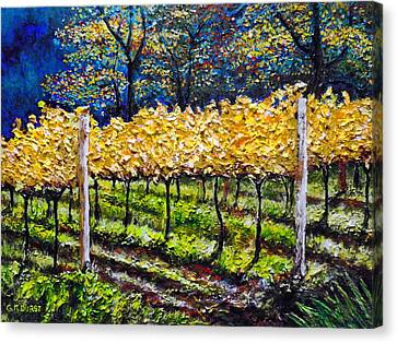 Golden Splendor Canvas Print by Michael Durst