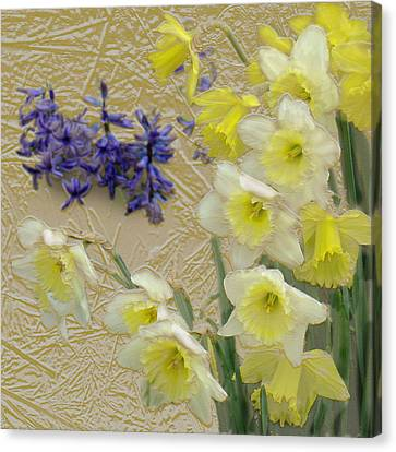 Golden Spring Canvas Print by Steve Karol