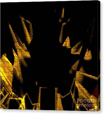 Golden Statues - Brighter Canvas Print by David Winson