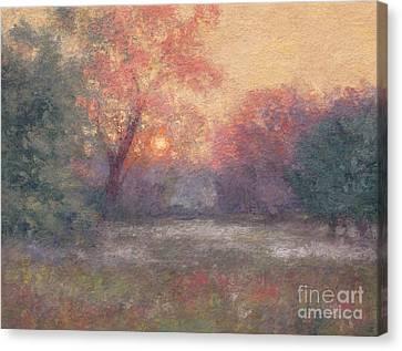 Golden Sunrise - June Canvas Print by Gregory Arnett