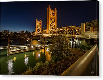 Golden Towers Canvas Print by Everet Regal