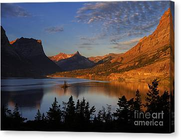 Golden Wild Goose Island Canvas Print by Mark Kiver