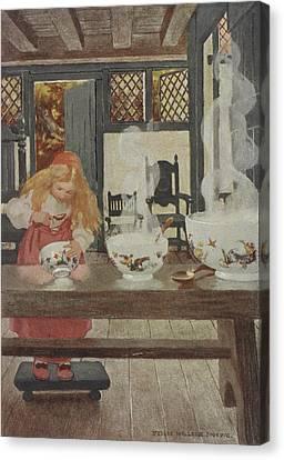 Goldilocks Canvas Print by British Library