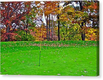 Golf My Way Canvas Print by Frozen in Time Fine Art Photography