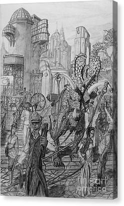 Gomorra Canvas Print by George  Harrison