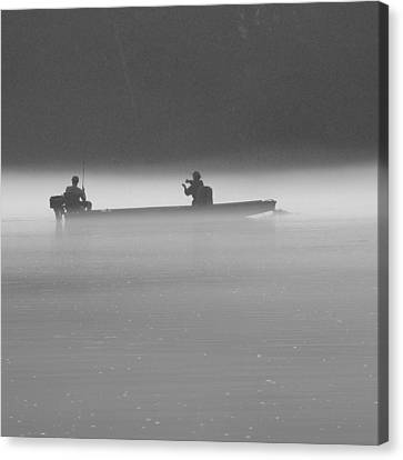 Gone Fishing Canvas Print by Mike McGlothlen