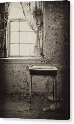 Gone Canvas Print by Rebecca Skinner