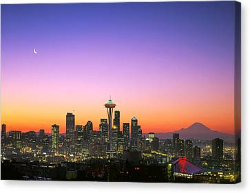Good Morning America. Canvas Print by King Wu