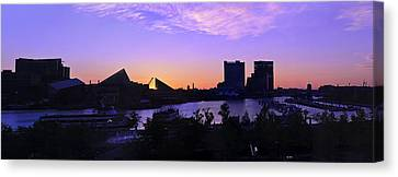 Good Morning Baltimore Canvas Print by Marianne Campolongo