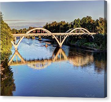Good Morning Grants Pass II Canvas Print by Heidi Smith