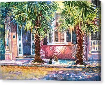 Good Neighbors Canvas Print by Alice Grimsley