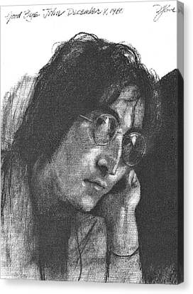 Goodbye John Canvas Print by David Lloyd Glover