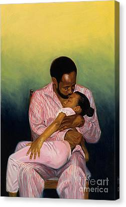 Goodnight Baby Canvas Print by Colin Bootman