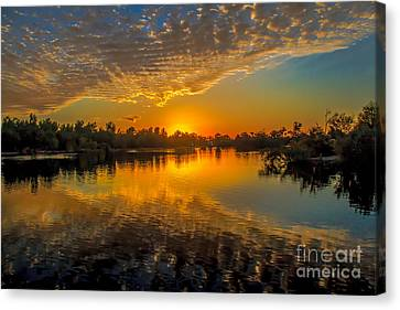 Gorgeous Sunset  Canvas Print by Robert Bales