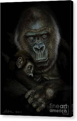 Gorilla  Canvas Print by Andre Koekemoer