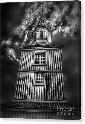 Gothic Doomsday.. Canvas Print by Nina Stavlund