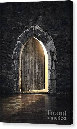 Gothic Light Canvas Print by Carlos Caetano