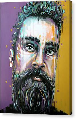 Gotzman Canvas Print by Jeremy Scott