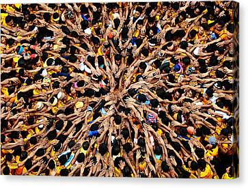 Govindas Canvas Print by Money Sharma