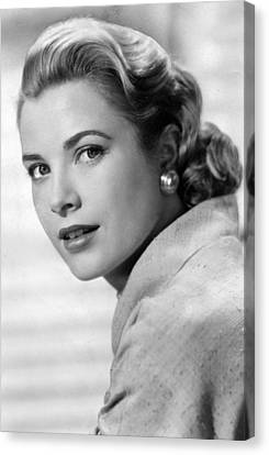 Grace Kelly In Her Prime Canvas Print by Retro Images Archive