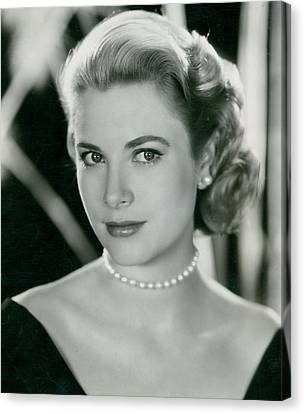 Grace Kelly Canvas Print by Retro Images Archive
