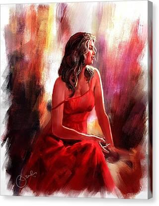 Grace Canvas Print by Kiran Kumar