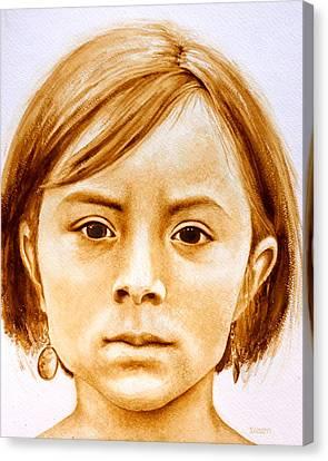 Gracie Canvas Print by Julee Nicklaus