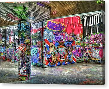 Graffiti 01 Canvas Print by Svetlana Sewell