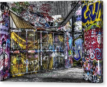 Graffiti 02 Canvas Print by Svetlana Sewell