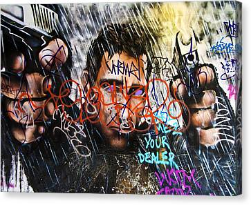 Graffiti 03 Canvas Print by Svetlana Sewell