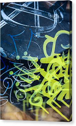 Grafiti Canvas Print by Toppart Sweden