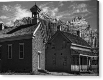 Grafton Ghost Town Utah Canvas Print by Utah Images