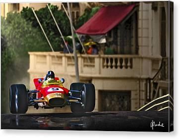 Graham's Monaco 1968 Canvas Print by Craig Purdie
