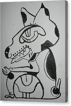Gran Jaguar IIi Canvas Print by Juan Francisco Zeledon