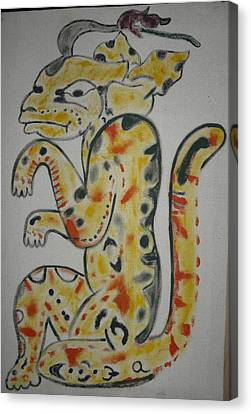 Gran Jaguar Canvas Print by Juan Francisco Zeledon