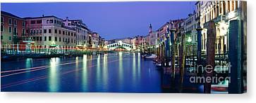 Grand Canal Canvas Print by Rod McLean