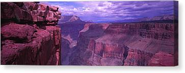 Colorado River Canvas Print featuring the photograph Grand Canyon, Arizona, Usa by Panoramic Images
