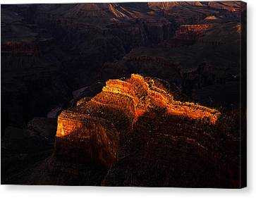 Grand Canyon Evening Canvas Print by Andrew Soundarajan