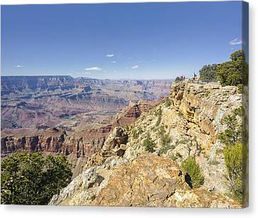 Grand Canyon Pipe Creek Vista Canvas Print by Marianne Campolongo