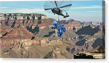 Grand Canyon Canvas Print by Scott Listfield