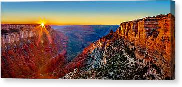 Grand Canyon Sunset Canvas Print by Az Jackson