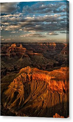 Grand Canyon Sunset Canvas Print by Cat Connor