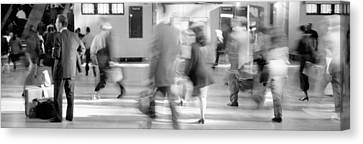 Grand Central Station, Nyc, New York Canvas Print by Panoramic Images