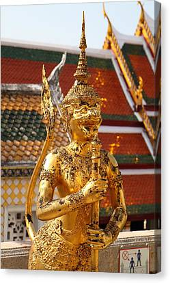 Grand Palace In Bangkok Thailand - 011318 Canvas Print by DC Photographer