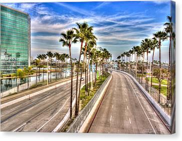 Grand Prix Of Long Beach Canvas Print by Heidi Smith