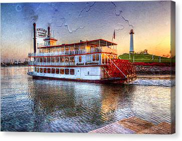 Grand Romance Riverboat Canvas Print by Heidi Smith