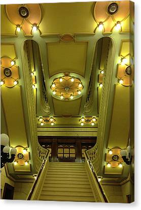 Grand Stairs Canvas Print by Photolope Images