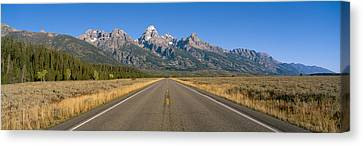 Grand Teton National Park, Wyoming Canvas Print by Panoramic Images