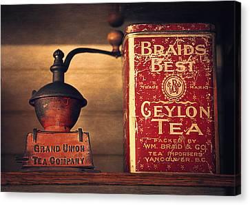 Grand Union Tea Company Canvas Print by Maria Angelica Maira